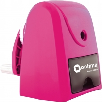 Механическая точилка для карандаша с автоматической подачей, розовая