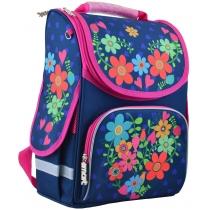 Рюкзак каркасный PG-11 Flowers blue