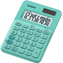Калькулятор настольный Casio, 10 разрядов, св-зеленый, размер 120*85.5*19.4 мм