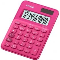 Калькулятор настольный Casio, 10 разрядов, розовый, размер 120*85.5*19.4 мм
