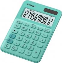 Калькулятор настольный Casio, 12 разрядов, св-зеленый, размер 149.5*105*22.8 мм