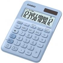 Калькулятор настольный Casio, 12 разрядов, св-голубой, размер 149.5*105*22.8 мм