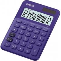 Калькулятор настольный Casio, 12 разрядов, фиолетовый, размер 149.5*105*22.8 мм