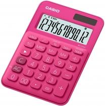 Калькулятор настольный Casio, 12 разрядов, розовый, размер 149.5*105*22.8 мм