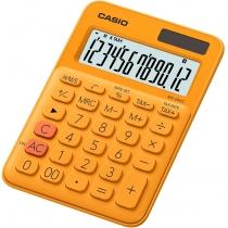 Калькулятор настольный Casio, 12 разрядов, оранжевый, размер 149.5*105*22.8 мм