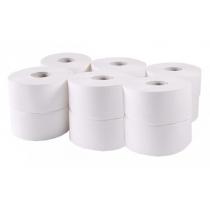 Бумага туалетная 2 слоя Тиша 120 м 1060 отрывов, упаковка 8 рулонов