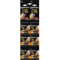 Батарейка DURACELL LR06/АА MN1500, 12 шт відривний плакат