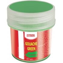 Гуашь цветная, 40 мл, зеленый