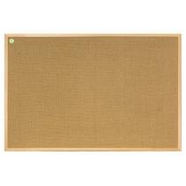 Доска джутовая, деревянная рамка (сосна), 120x80 см