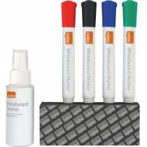 Набор аксессуаров для  магнитно-маркерных досок Rexel