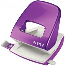 Дырокол металлический Leitz New NeXXt WOW, 30 листов, цвет фиолетовый металлик