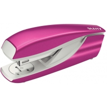 Степлер металлический Leitz New NeXXt WOW, розовый металлик, cкоба №24/6, 26/6