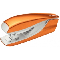 Степлер металлический Leitz New NeXXt WOW, оранжевый металлик, cкоба №24/6, 26/6