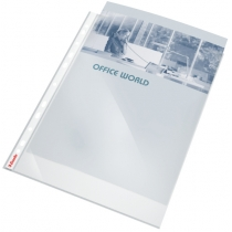 Файл Esselte Premium A4 PP 105мкм  10шт. прозрачный