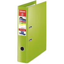 Папка-регистратор Esselte No.1 Power VIVIDA А4 75мм, зеленая