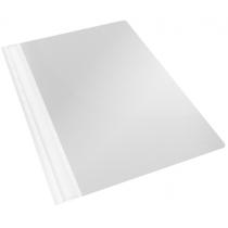 """Швидкозшивач пластиковий Esselte VIVIDA А4, колір """"білий"""" в уп. по 25 шт"""