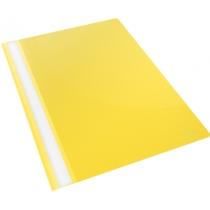 Скоросшиватель пластиковый Esselte VIVIDA А4, желтый, 25 штук