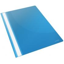 Скоросшиватель пластиковый Esselte VIVIDA А4, синий, 25 штук