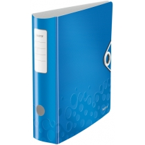 Папка-регистратор Leitz Active WOW 180°,  80мм, синяя