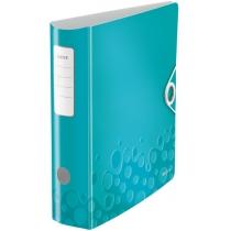 Папка-реєстратор Leitz Active WOW 180°,  80мм, колір бірюзовий
