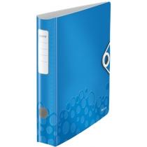 Папка-регистратор Leitz Active WOW 180°,  60мм, синяя