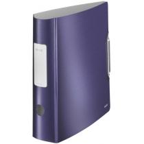 Папка-реєстратор Leitz Active Style 180°, 82мм, колір титановий синій