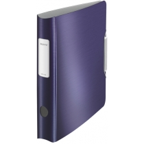 Папка-реєстратор Leitz Active Style 180°, 60мм, колір титановий синій