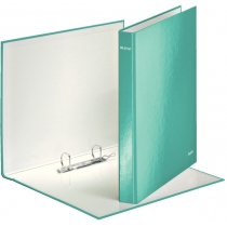 Папка-реєстратор Leitz WOW, 2 кільця, 25мм, А4+, колір бірюзовий металік