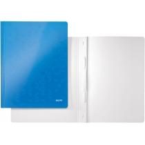 Швидкозшивач Leitz WOW, 250листів, А4, колір синій металік