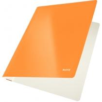Скоросшиватель Leitz WOW, 250листов, А4, оранжевый металлик