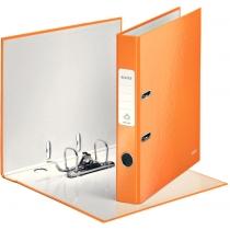 Папка-реєстратор Leitz WOW з механізмом 180°, А4 50мм, колір помаранчевий металік