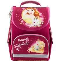 Рюкзак школьный каркасный 501 P  (+ подарок)