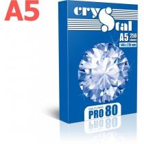 Бумага CRYSTAL PRO 80 А5 80г/м2 , 250 лист