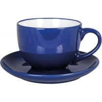 Набор чайный керамический VENA Economix promo 250мл, синий