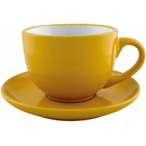 Набор чайный керамический VENA Economix promo 250мл, желтый