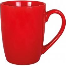 Чашка керамическая SUNNY Optima promo 350мл, красная