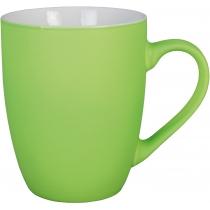 Чашка фарфоровая NEON Optima promo 300мл, салатовая