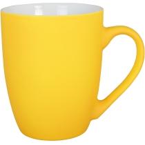Чашка фарфоровая NEON Optima promo 300мл, желтая