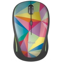 Мышь TRUST Yvi FX wireless mouse - geometrics