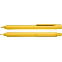 Ручка шариковая автомат. Schneider ESSENTIAL желтый