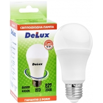 Лампа светодиоднаяDELUX BL 60 15W 4100K Е27