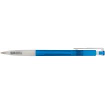 Ручка шариковая автомат. ECONOMIX NEPTUN 0,5 мм. Корпус ассорти, пишет синим