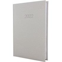 Ежедневник датированный 2020, SAHARA, белый, А5