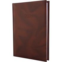 Ежедневник датированный 2020, OFFICE, коричневый, А5