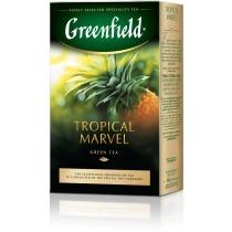 Чай Greenfield Tropical Marvel 100 г китайский зеленый с ананасом и имбирем