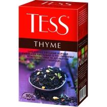 Чай TESS Thyme 90 г черный индийский с чабрецом, цедрой лимона и апельсина