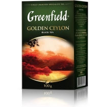 Чай Greenfield Golden Ceylon 100 г чорний цейлонський