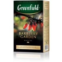Чай Greenfield Barberry Garden 100 г чорний з ягодами барбарису