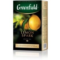 Чай Greenfield Lemon Spark 100 гр черный с цедрой лимона