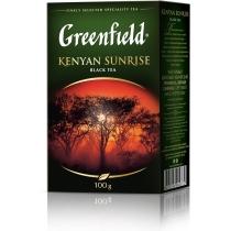 Чай Greenfield Kenyan Sunrise 100 г черный кенийский